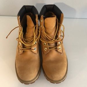 Timberland work boot wheat color